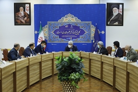 Meeting of the Vice President for Science and Technology and the President of the Afghan Academy of Sciences