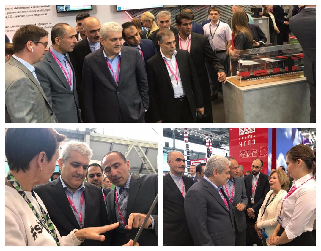 The vice president for science and technology affairs visited the largest technology industry exhibition of Russia