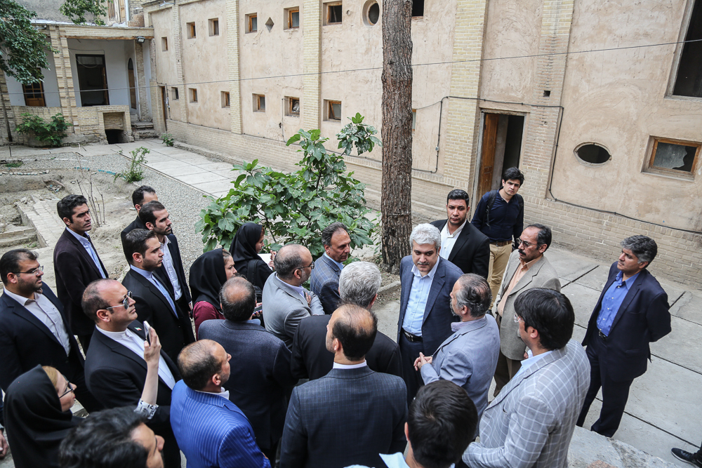 Restoration of Iraj Building with the support of the vice president for science and technology affairs